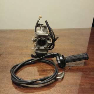 Drz 400 sm OEM carburetor come with Throttle cables ( low usage)