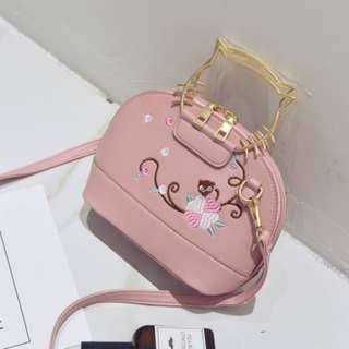 Tas Fashion Handbags T 1149 Pink