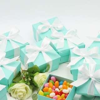 PO Classic Tiffany Box Favor