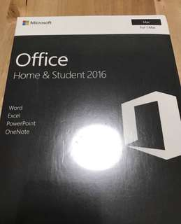 Microsoft Office 2016 Home & Student (Life-time)
