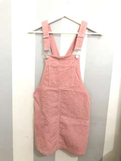 Subtitled Pinafore/Overall Dress