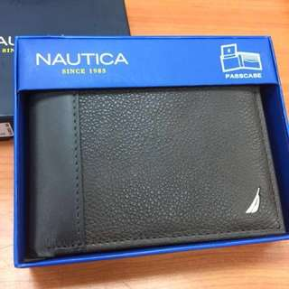 Nautica Genuine Leather Wallet 真皮銀包 (美國進口)