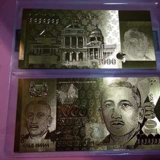 Gold BankNote