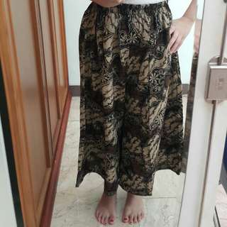 Batik culotte unisex