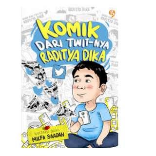 Ebook Komik dari Twit-nya Raditya Dika - Raditya Dika