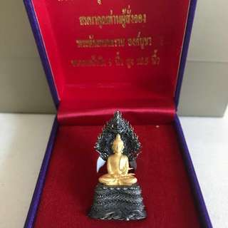 Thai Amulet limited edition Naprok dipped with real Thai gold