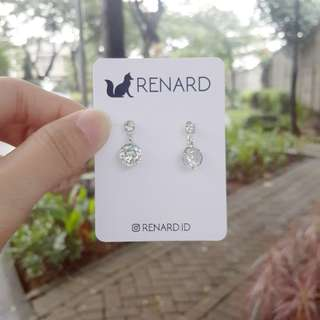 Dulie  Earring  / anting cantik / anting manis / anting keren / anting gaul / anting model / anting korea / anting import / anting fashion / anting pesta / anting lucu / anting imut