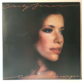 Carly Simon ‎– Another Passenger (1976 USA Original - Vinyl is Mint)