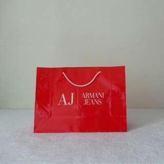 Armani Jeans Paper Bag