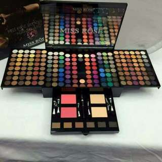 MISS ROSE: 180 EYESHADOW PALETTE SET