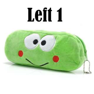 #0011. 3D Cartoon Pencil Case, Pencil Box, Makeup, Cosmetic Pouch - Frog Kid (FREE POSTAGE)