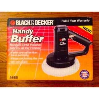 black&decker拋光機 打蠟機9555