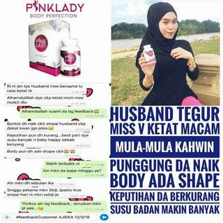 Pink Lady Body Perfection to have voluptuous body