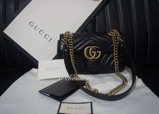 Gucci GG Marmont matelassé shoulder bag - mini