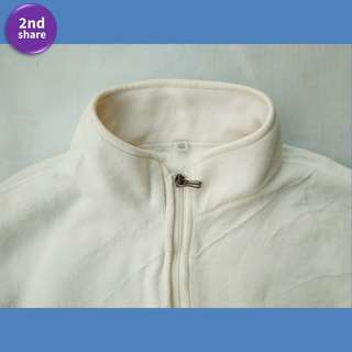 Jaket Uniqlo XL White2