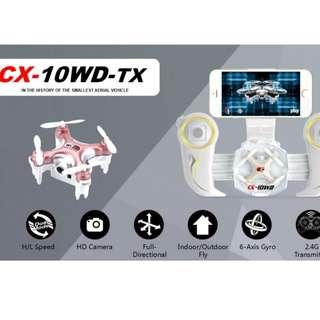 Cheerson CX-10WD-TX 全球最細航拍機 (not DJI)