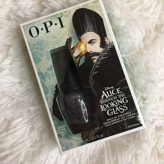[BNIB] OPI Alice Through the Looking Glass Special Edition Pack Black Colour Polish