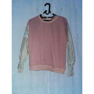 Nevada sweater warna pink