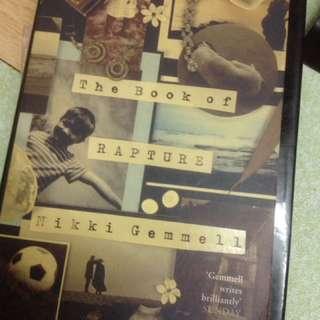 The book of rapture English novel