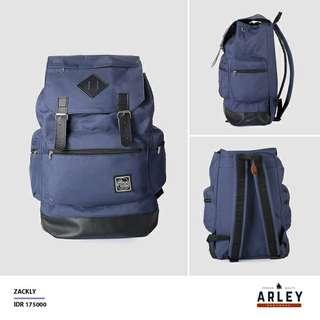 Tas Ransel Backpack Pria Wanita Unisex Zackly Original
