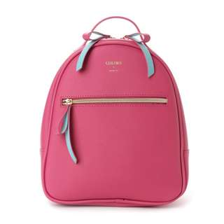Japan Samantha Thavasa Colors By Jennifer Sky Round Backpack Coral Pink