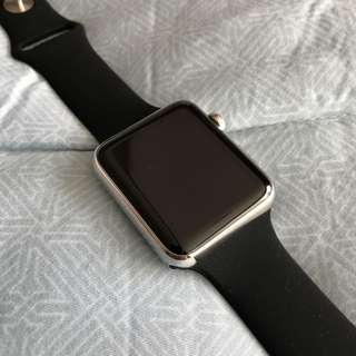 Apple Watch Stainless Steel 1st Gen 42mm Saphhire Glass