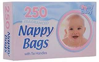 4 My Baby Disposable Fragranced Diaper Bag