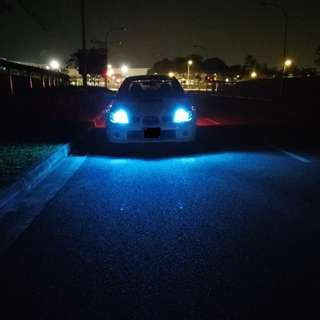 Subaru bros on super bright T10 led
