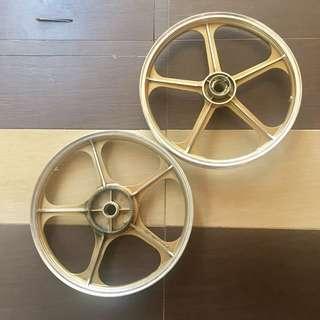 Sport Rim GTO Rxz Gold Silver