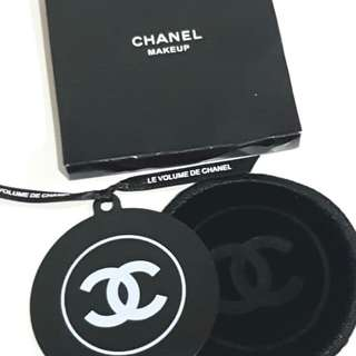 Chanel Mini Compat Mirror with Velvet pouch