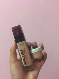 SHARE IN JAR L'oreal Infallible Stay Fresh Foundation 24H