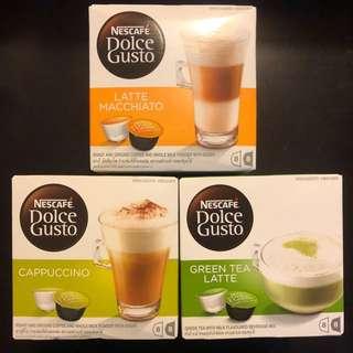 Nescafé Dolce Gusto Capsule 咖啡膠囊