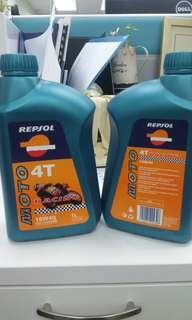 Repsol 4T Racing Fully Synthetic Engine Oil