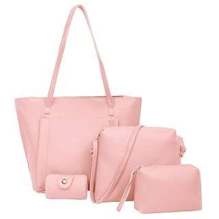 4 in 1 korean bag set