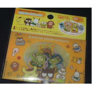 Sanrio 2017' Max Character Landry's House Keroppi Pochacco Badtz 45 pcs Stickers (貼紙)