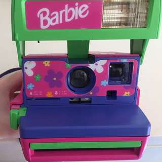 RARE VINTAGE Barbie Polaroid Camera