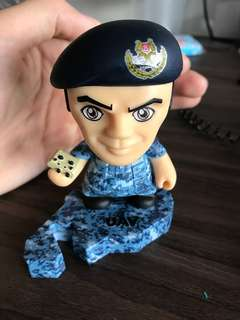 "RSAF ""We are one force"" Figurine"
