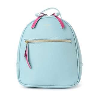 Japan Samantha Thavasa Colors By Jennifer Sky Round Backpack Light Blue