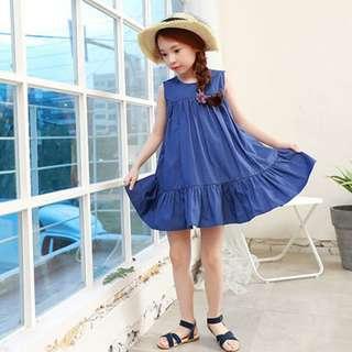 Little Girl's Cotton Summer Dress   Junior Apparel