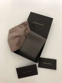 Bottega Veneta Card Holder (Grey)