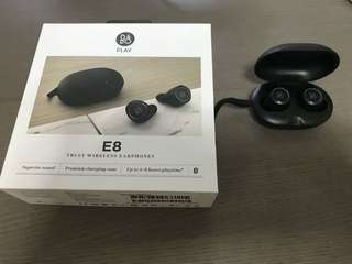 B&O E8 wireless earphones/ earpods