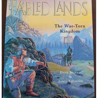 Fabled Lands - The War-Torn Kingdom Gamebook  - Dave Morris & Jamie Thomson