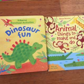 Usborne activities books