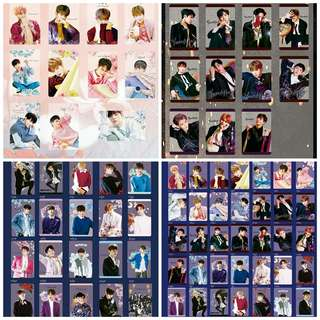 WannaOne Photocards+Stickers Set