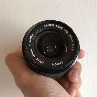 Canon FD 24mm f2.8