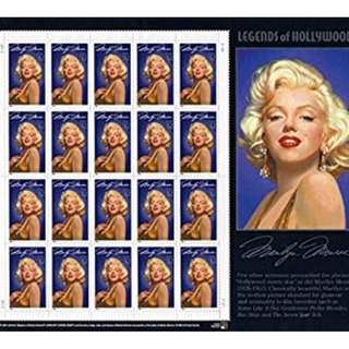 usa stamp-souvenir sheet