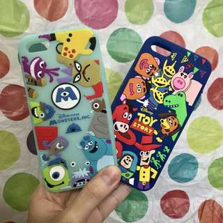 MONSTERS INC SULLY MIKE TOY STORY WOODY BUZZ JESSY CASE SILICONE FOR IPHONE 5 5s se