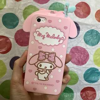 MY MELODY SILICONE CASE FOR IPHONE 5 5s SE