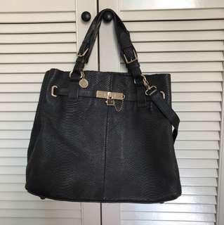 Reiss leather handbag