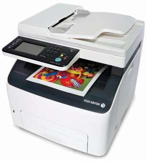 Fujixerox cm225fw multifuction color laser printer